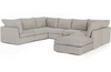 Paloma 7-Piece Sectional with Ottoman