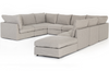 Paloma 8-Piece Sectional with Ottoman