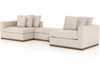 Pearson 2-Piece Sectional w/ Storage Ottoman