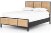 Sarava Black-Washed Bed