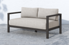 Savina 2-Seat Bronze Outdoor Sofa