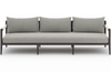 Shawna Bronze 3-Seat Outdoor Sofa