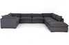 Westley 8-Piece Sectional w/ Ottoman