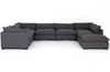 Weston 7-Piece Sectional with Ottoman