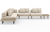 Yamila 5-Piece Sectional with End Table
