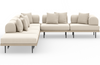 Yamila 5-Piece Sectional with Ottoman