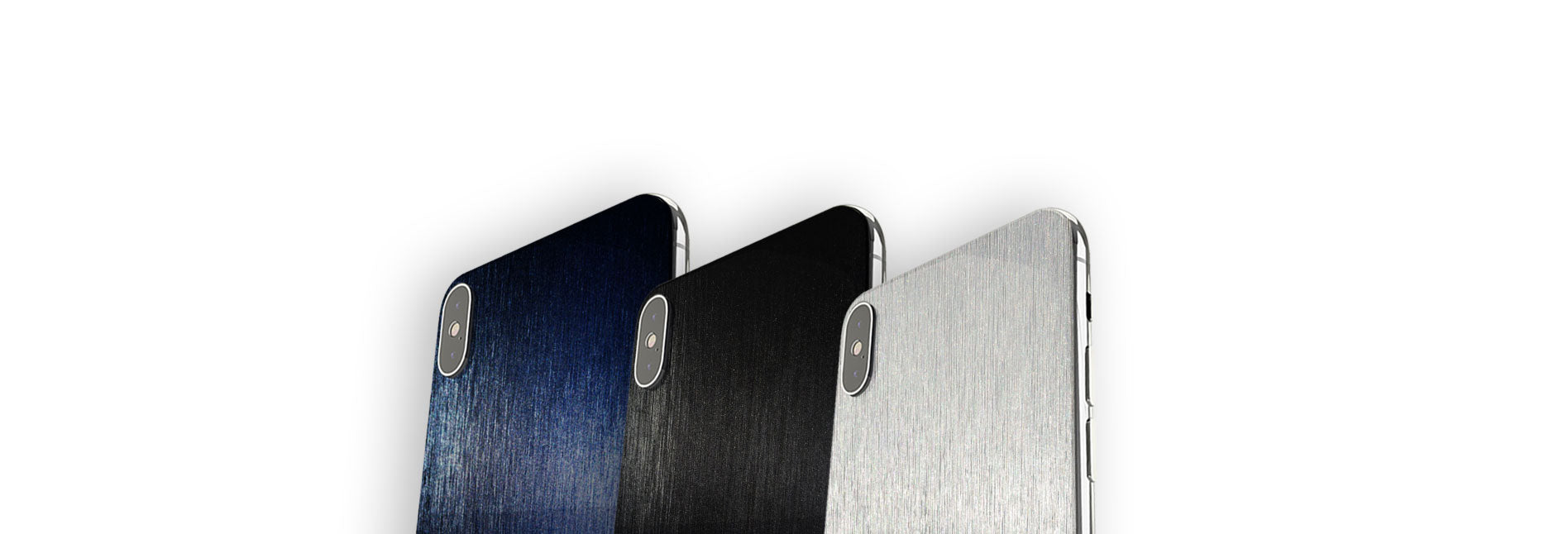 Brushed Aluminum Skins