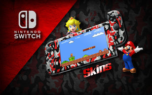 Nintendo Switch gaming console skins from JW Skinz are the best way to personalize and show off your Switch with our decorative skins.  Choose from our designs or personalize your own with our custom builder! Build your dream phone or switch today!