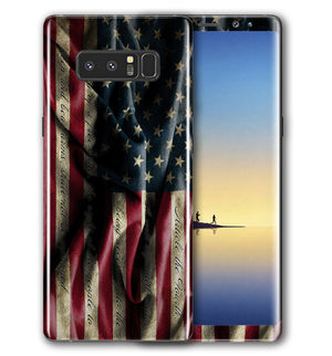 Galaxy Note 8 Phone Skins Freedom - JW Skinz
