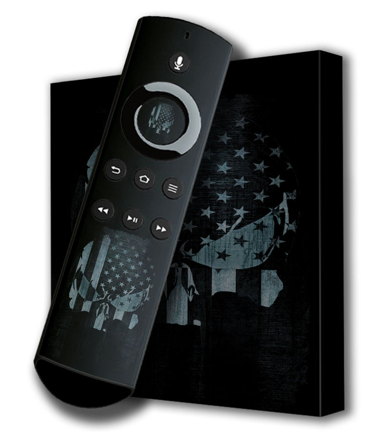Amazon Fire TV 4K Skins Freedom - JW Skinz