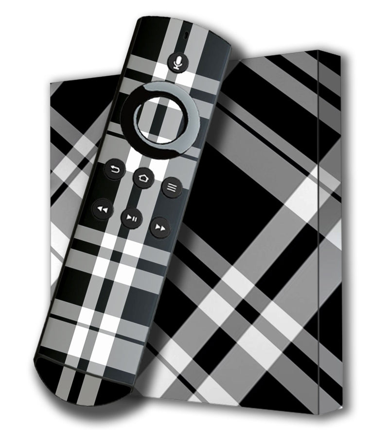 Amazon Fire TV 4K Skins Plaid