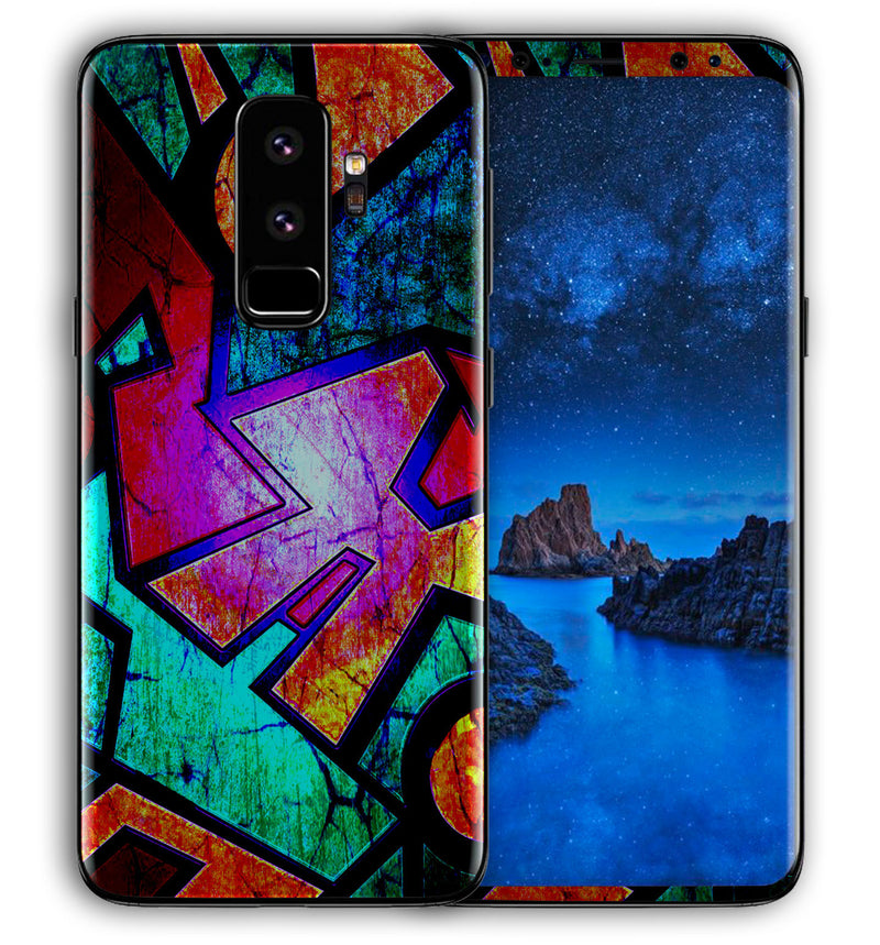 Galaxy S9 Plus Phone Skins Abstract - JW Skinz