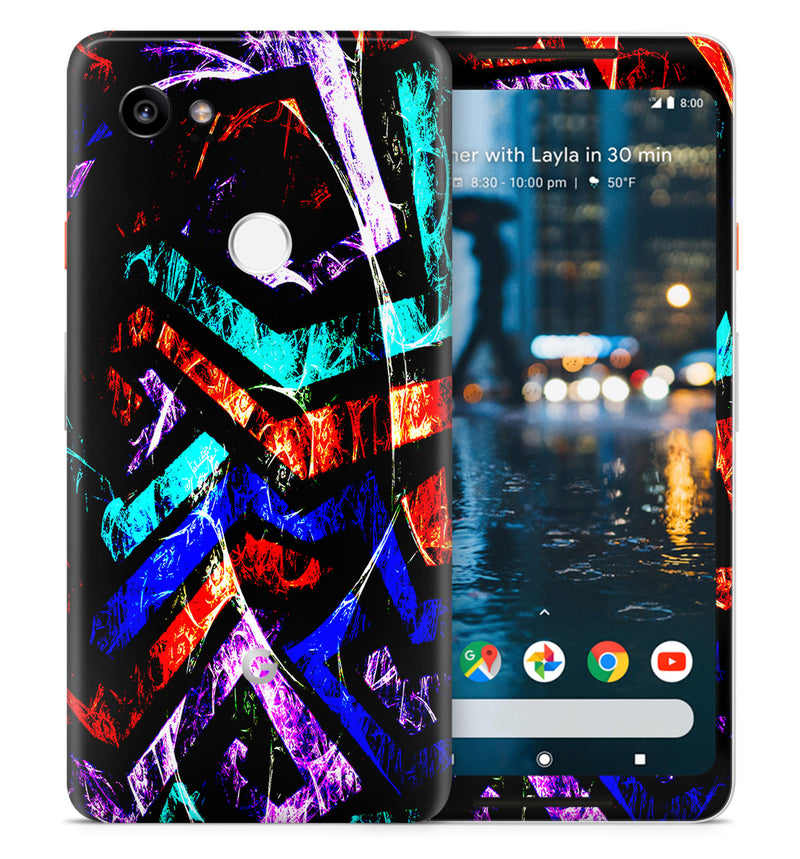 Google Pixel 2XL Phone Skins Abstract - JW Skinz