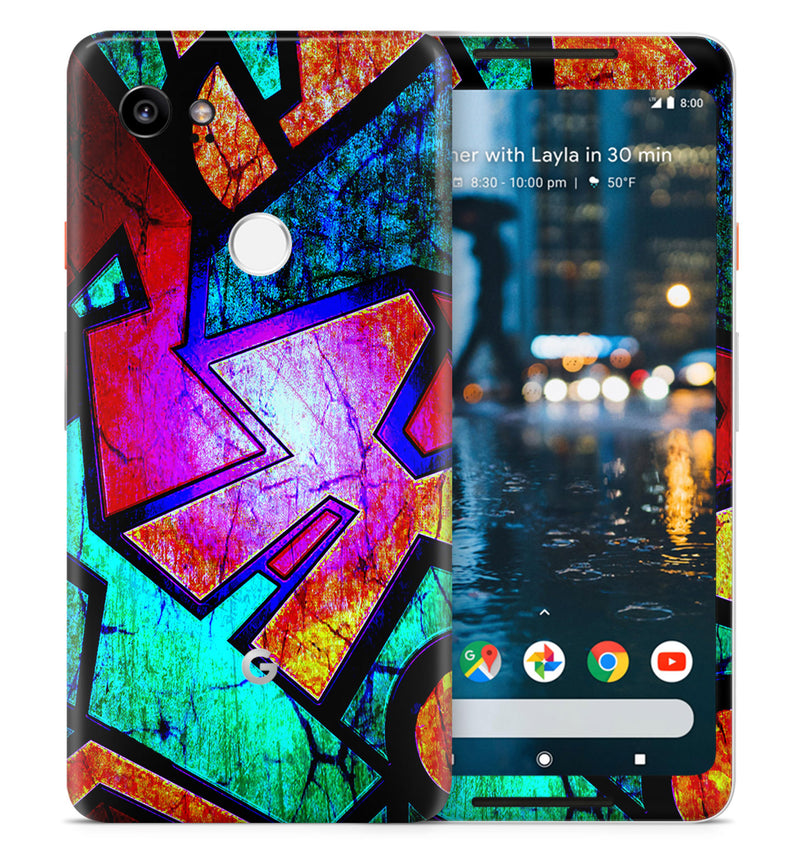 Google Pixel 2XL Phone Skins Abstract