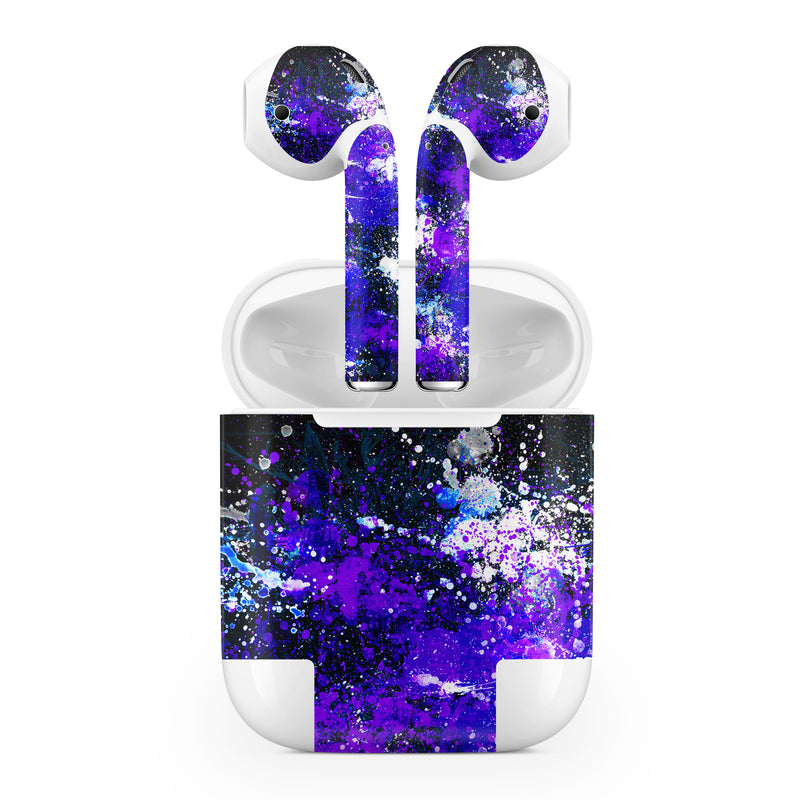 Apple AirPod Skins Paint Splatter - JW Skinz