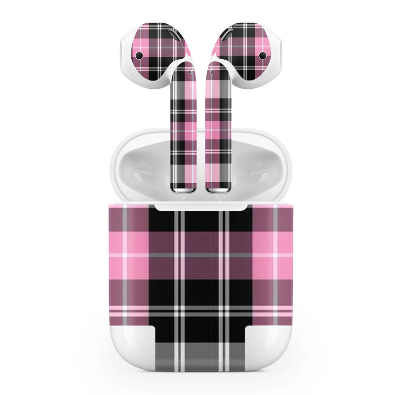 Apple AirPod Skins Plaid - JW Skinz