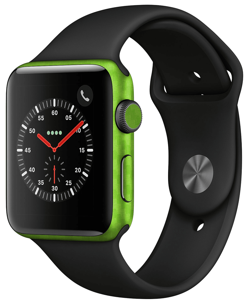 Apple Watch 42mm Series 2 Carbon Fiber Skins - JW Skinz