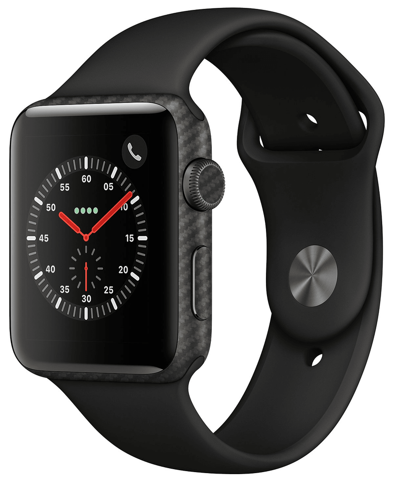 Apple Watch 38mm Series 1 Carbon Fiber Collection - JW Skinz