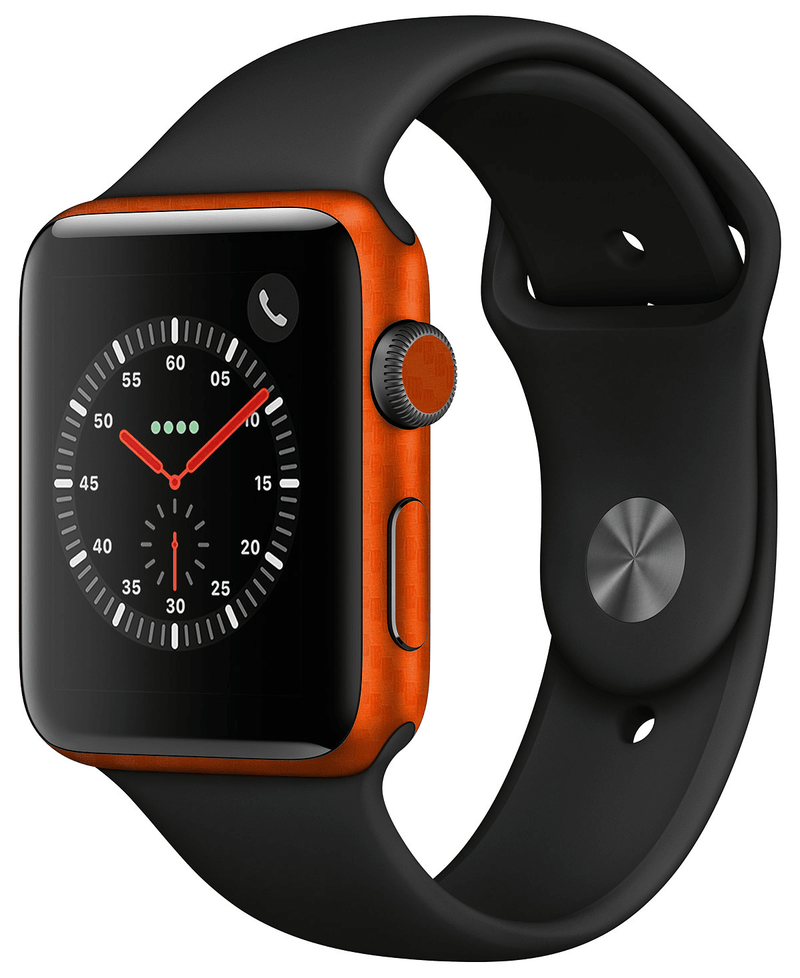 Apple Watch 38mm Series 2 Carbon Fiber Skins - JW Skinz