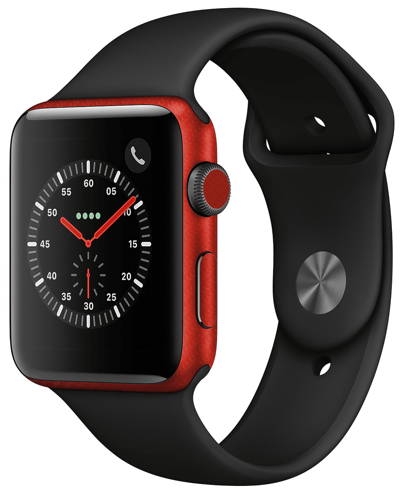 Apple Watch 38mm Series 3 Carbon Fiber Collection - JW Skinz