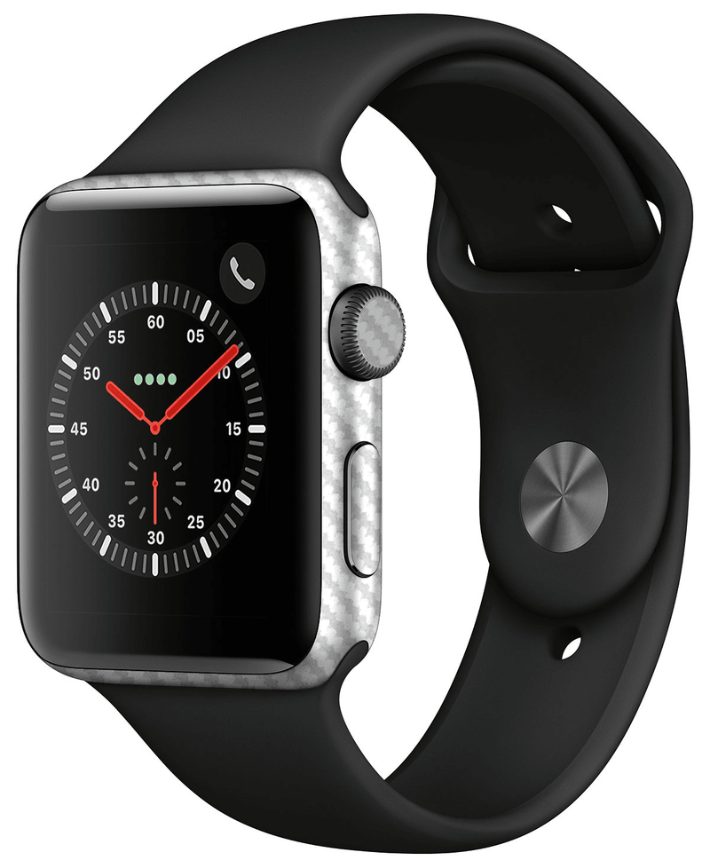 Apple Watch 42mm Series 3 Carbon Fiber Skins - JW Skinz