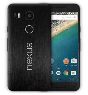Google Nexus 5X Phone Skins Brushed Aluminum - JW Skinz