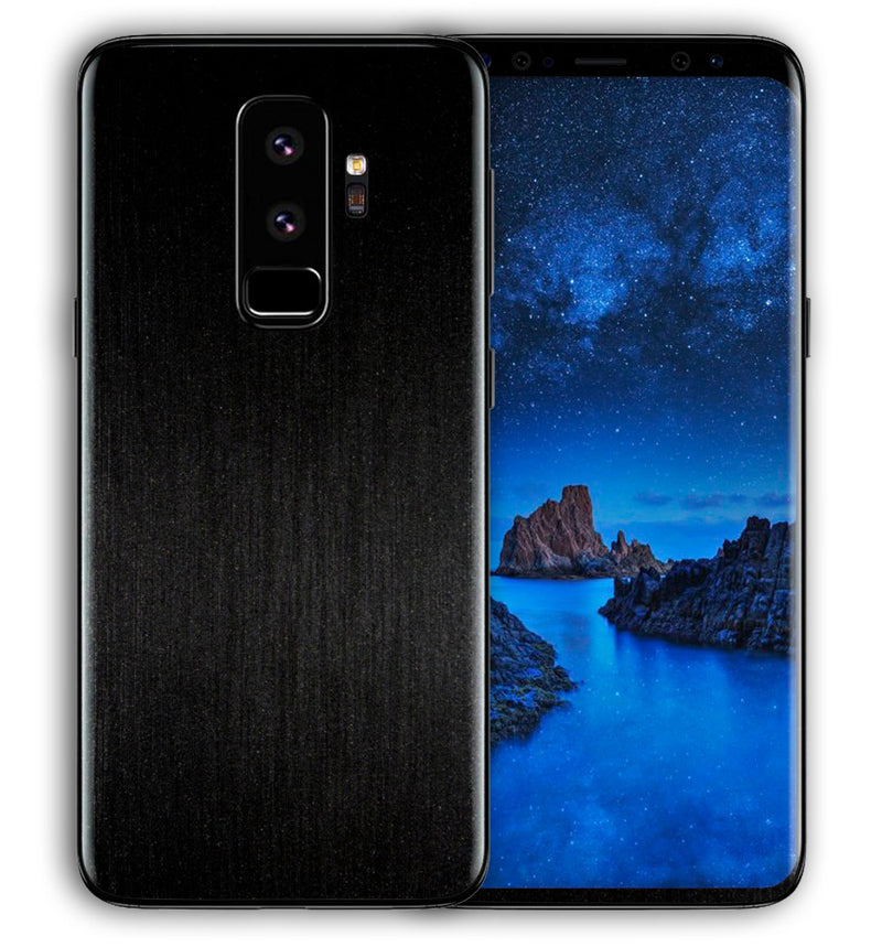 Galaxy S9 Plus Phone Skins Brushed Aluminum - JW Skinz