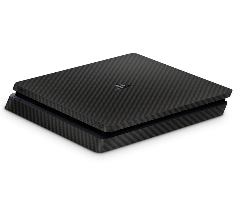 Playstation 4 Slim Skins Carbon Fiber - JW Skinz