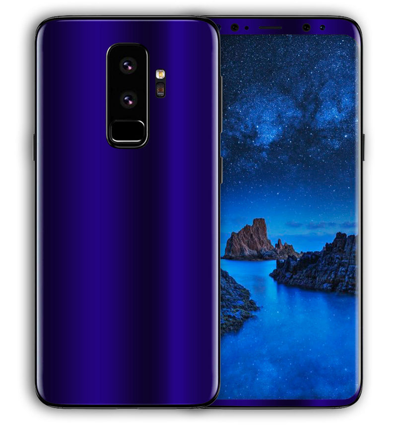 Galaxy S9 Plus Phone Skins Chrome - JW Skinz