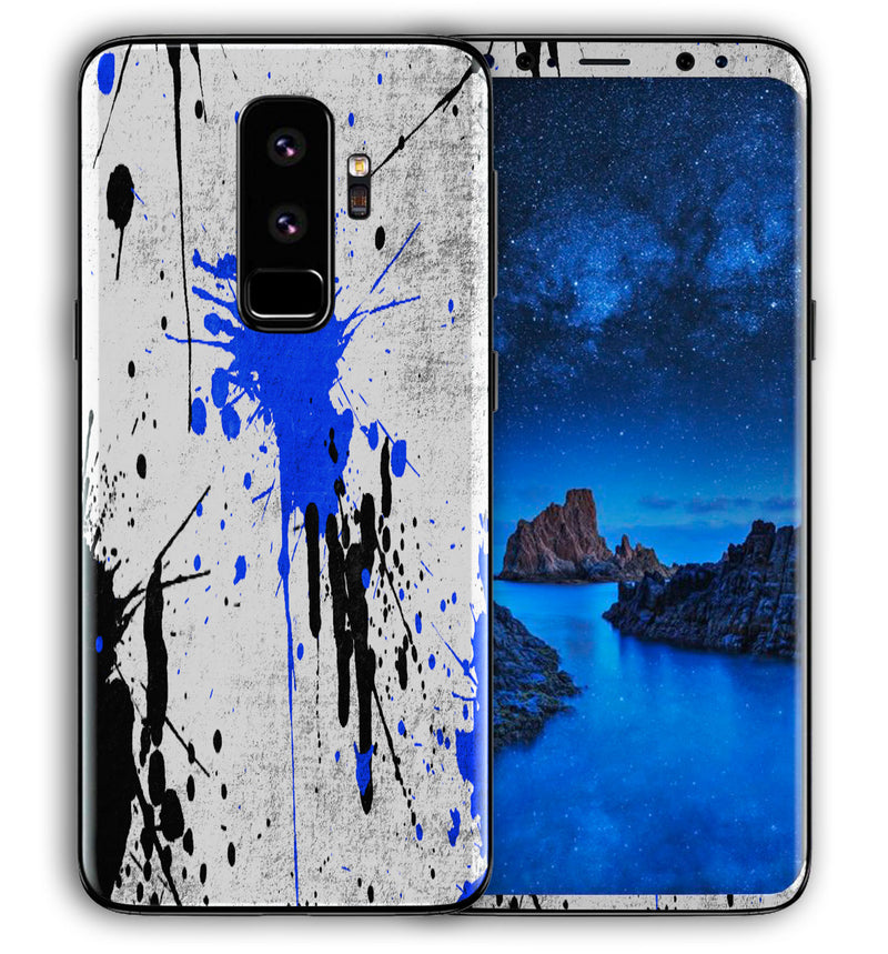 Galaxy S9 Plus Phone Skins Paint Splatter - JW Skinz