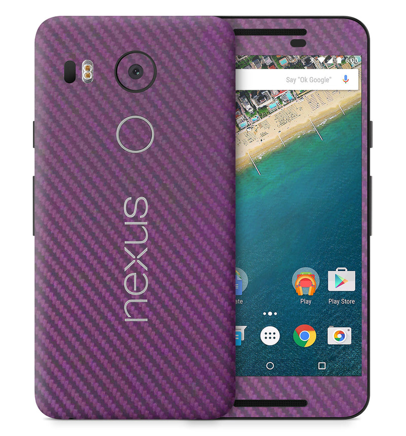 Google Nexus 5X Phone Skins Carbon - JW Skinz