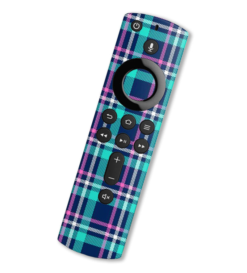 Fire TV Alexa Remote Gen 2 Skins Plaid