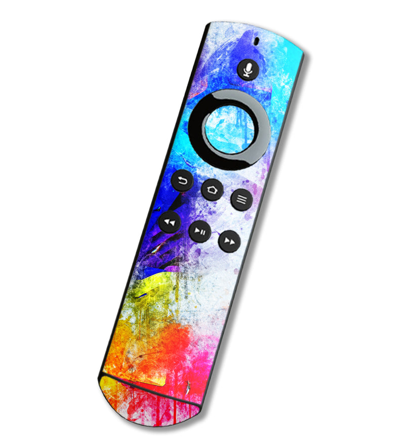 Fire TV Alexa Remote Skins Paint Splatter - JW Skinz