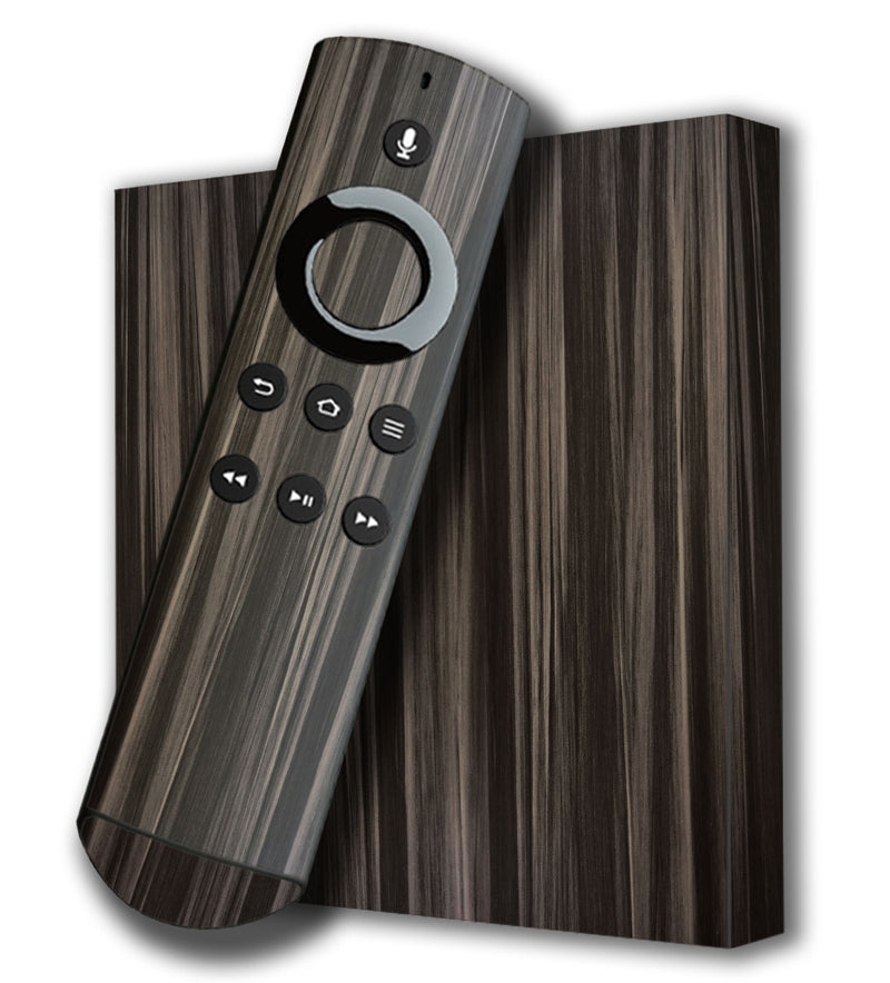 Amazon Fire TV 4K Skins Wood Grain - JW Skinz