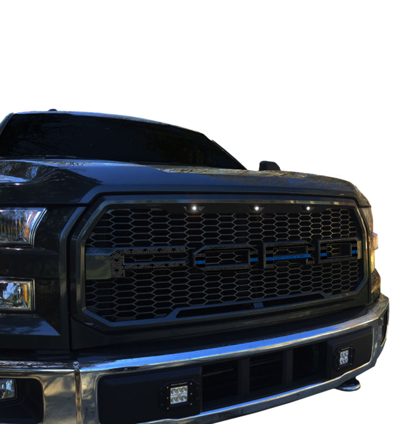 Ford F-150 (2015-2017) Grill Paramount Styling Skin Freedom