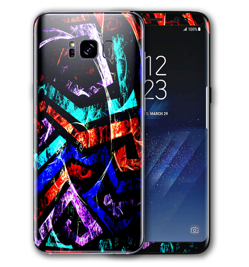 Galaxy S8 Plus Abstract Collection - JW Skinz