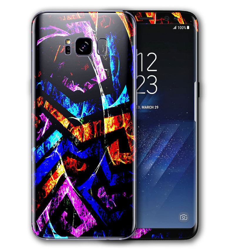 Galaxy S8 Phone Skins Abstract - JW Skinz