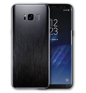 Galaxy S8 Plus Brushed Aluminum Collection - JW Skinz