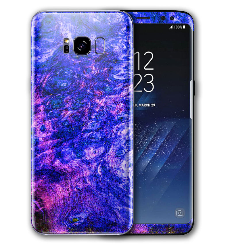 Galaxy S8 Plus Stabilized Wood Collection - JW Skinz