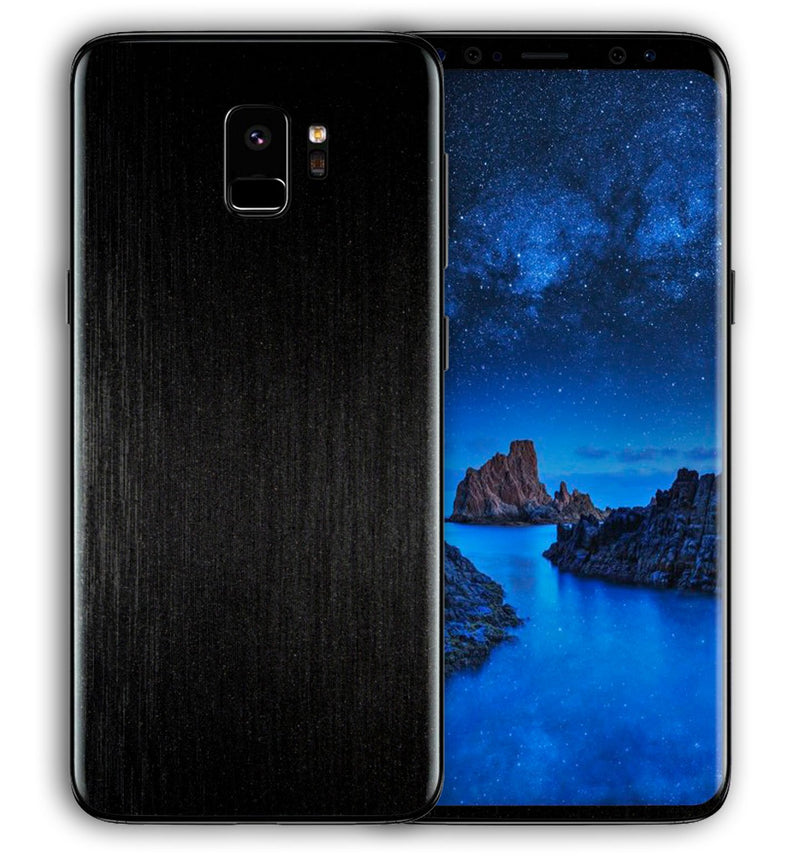 Galaxy S9 Phone Skins Brushed Aluminum - JW Skinz