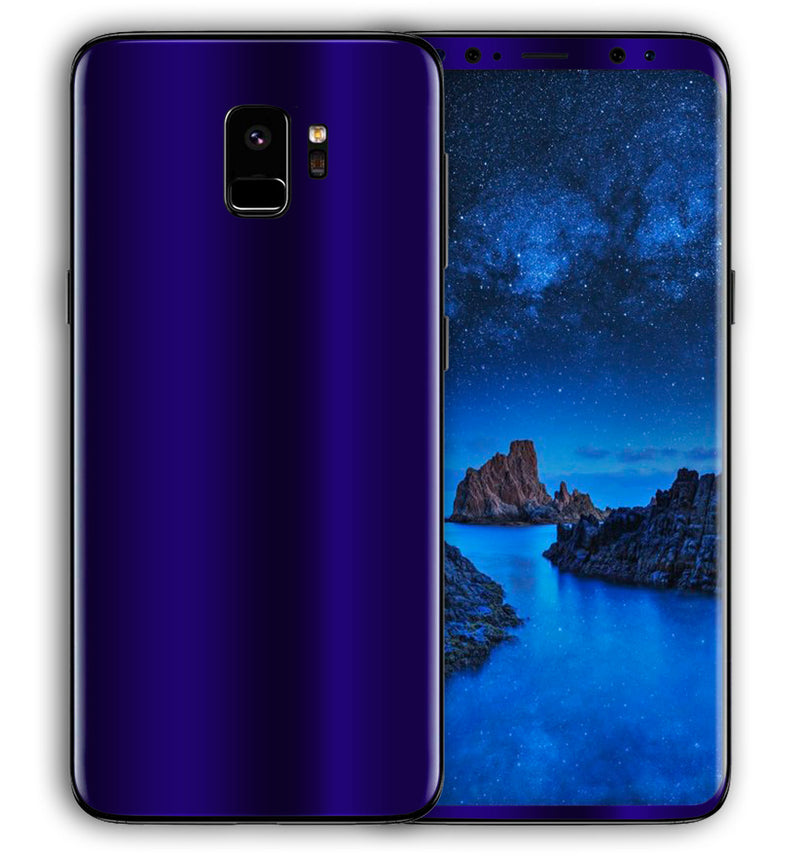 Galaxy S9 Phone Skins Chrome - JW Skinz