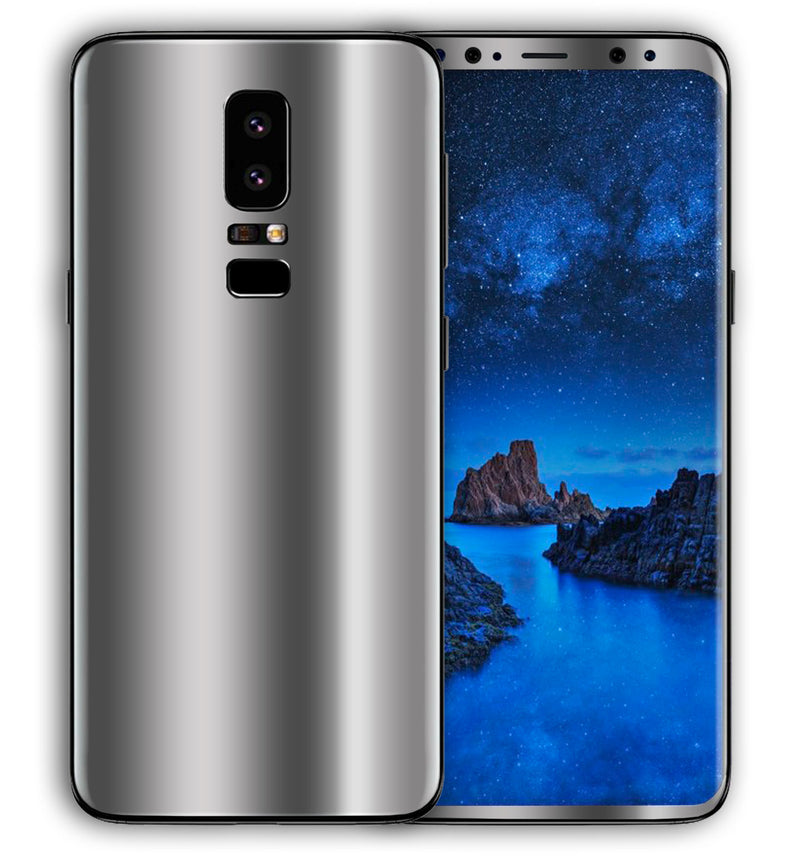 Galaxy S9 Plus Phone Skins Chrome