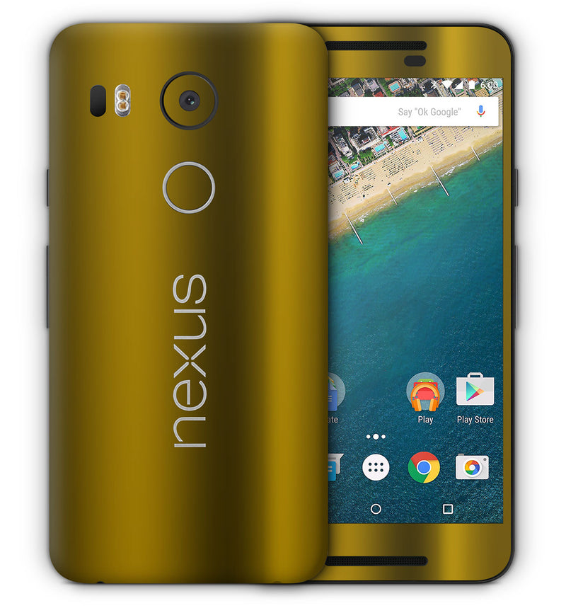 Google Nexus 5X Phone Skins Chrome - JW Skinz