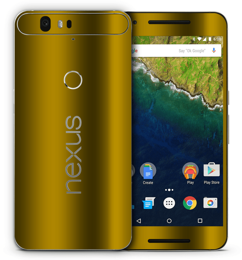 Google Nexus 6P Chrome Collection - JW Skinz
