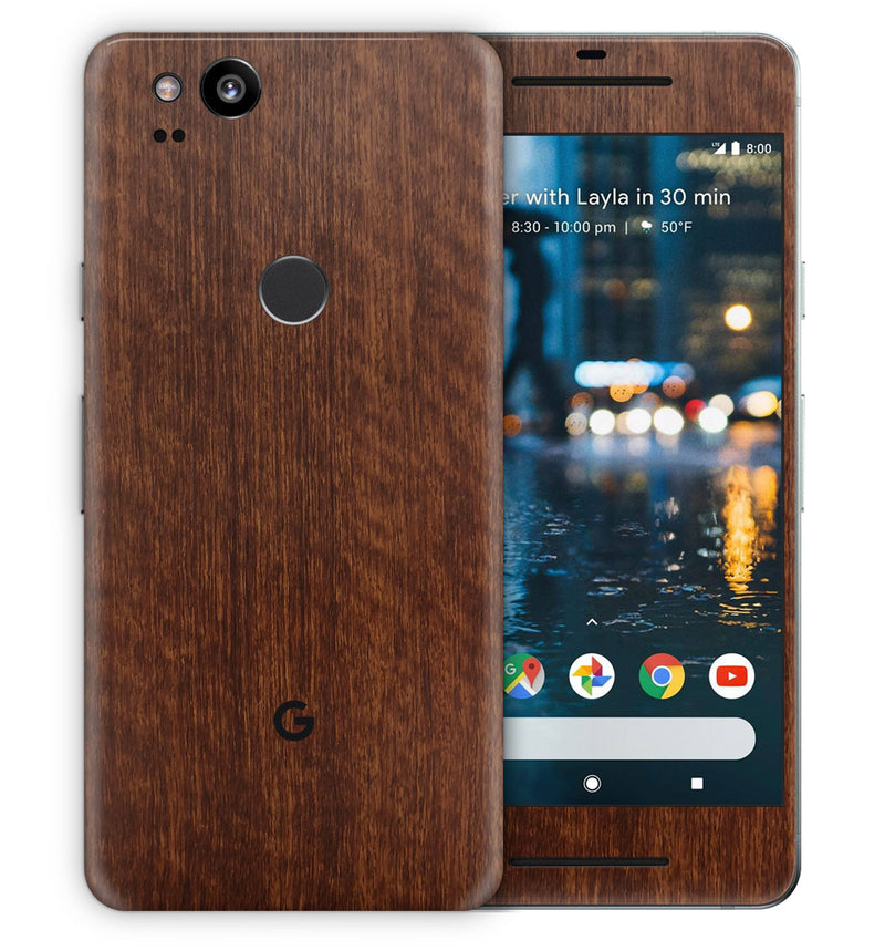 Google Pixel 2 Phone Skins Wood Grain - JW Skinz