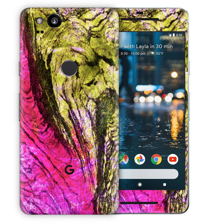 Google Pixel 2 Phone Skins Stabilized Wood - JW Skinz