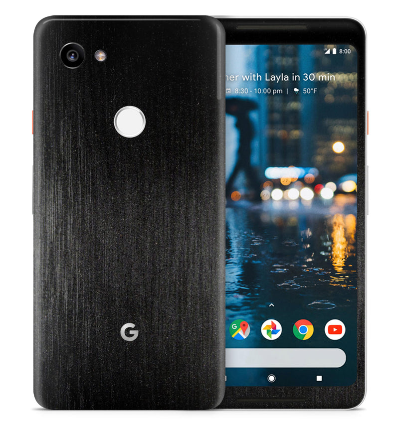 Google Pixel 2XL Phone Skins Brushed Aluminum - JW Skinz