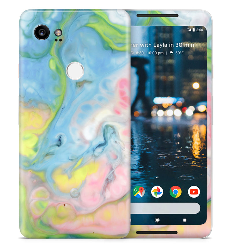 Google Pixel 2XL Marble Collection - JW Skinz
