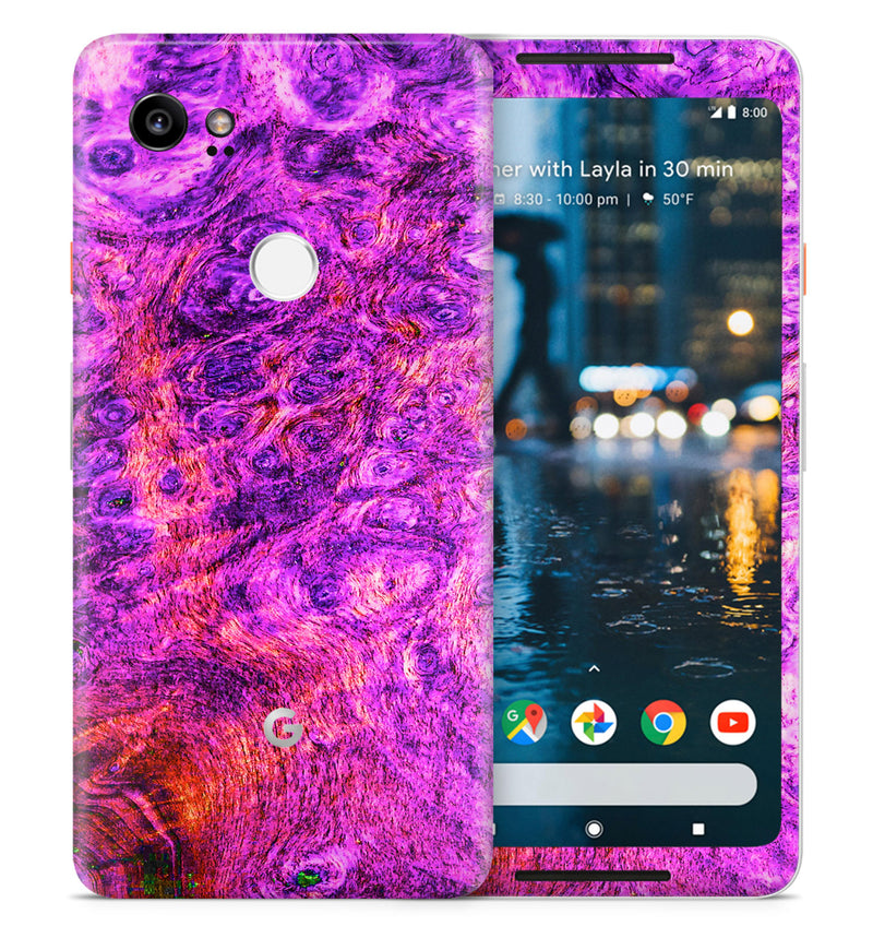 Google Pixel 2XL Phone Skins Stabilized Wood