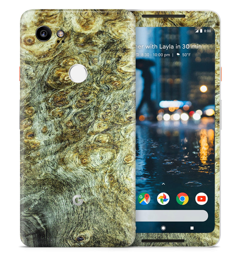 Google Pixel 2XL Phone Skins Stabilized Wood - JW Skinz